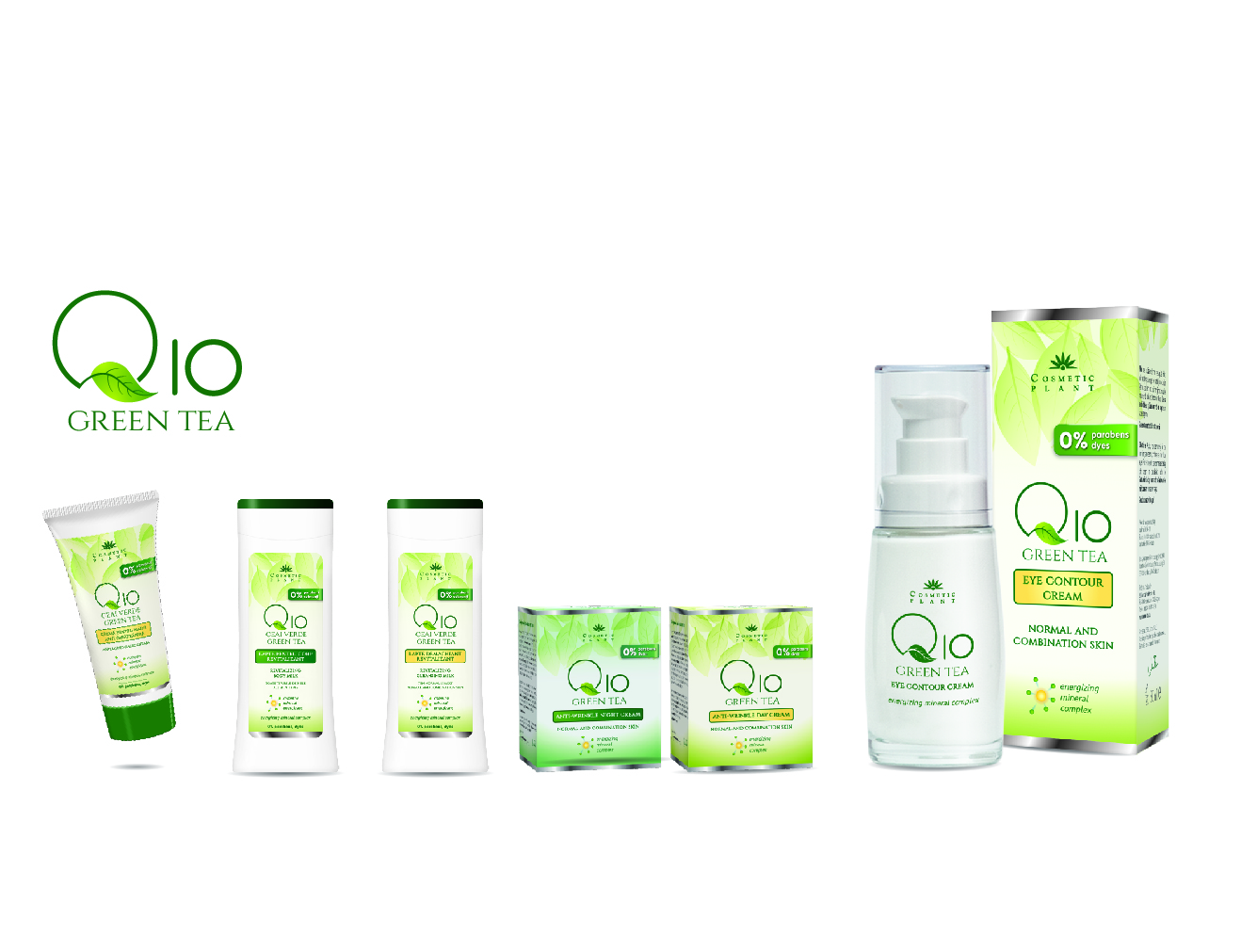 Cosmetic Plant, Q10 and Aloe Vera